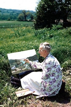 Are you a late bloomer? Grandma Moses began painting in her 70s!