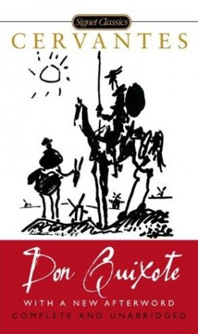 Cervantes published Don Quixote at age 58