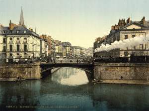 Nantes in the 1890s