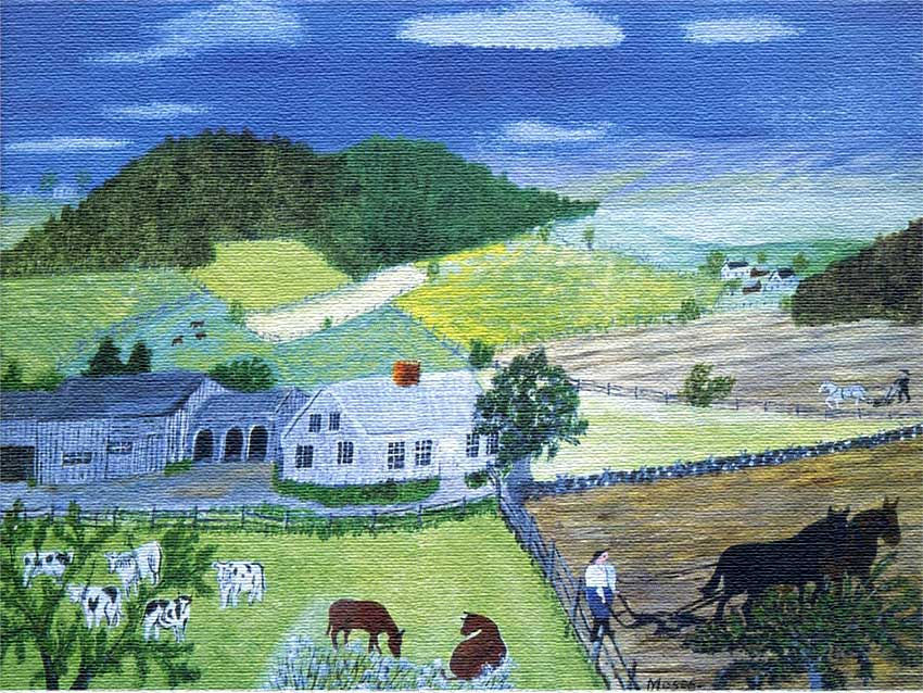 Grandma Moses Quot Life Is What We Make It Always Has Been