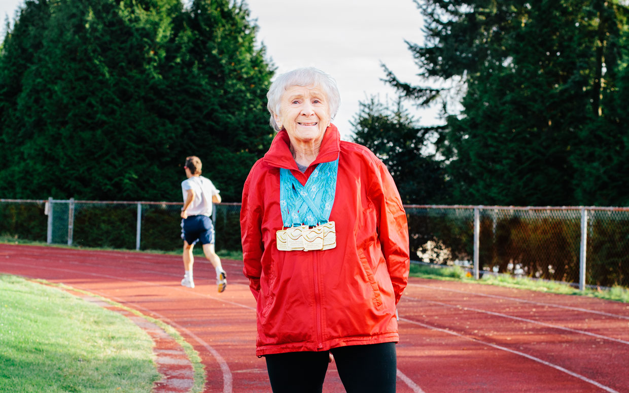What a 95-Year-Old Athletic Prodigy Can Teach Us About Late-Blooming | Debra Eve's Later Bloomer